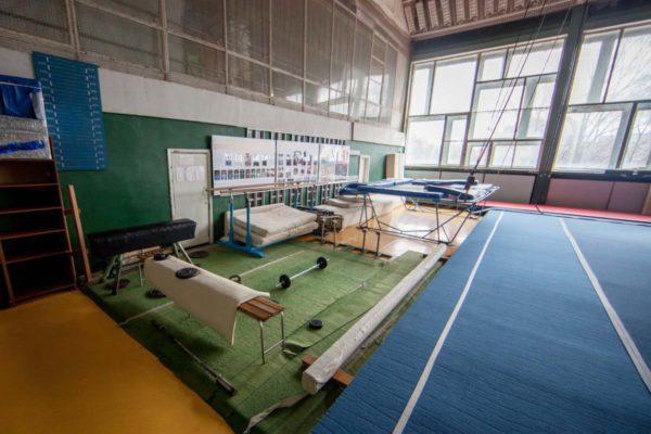 Зал акробатики